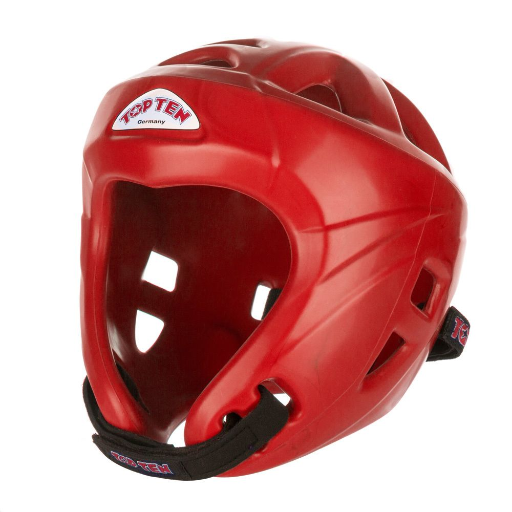 TOP TEN Avantgarde Head Guard Red