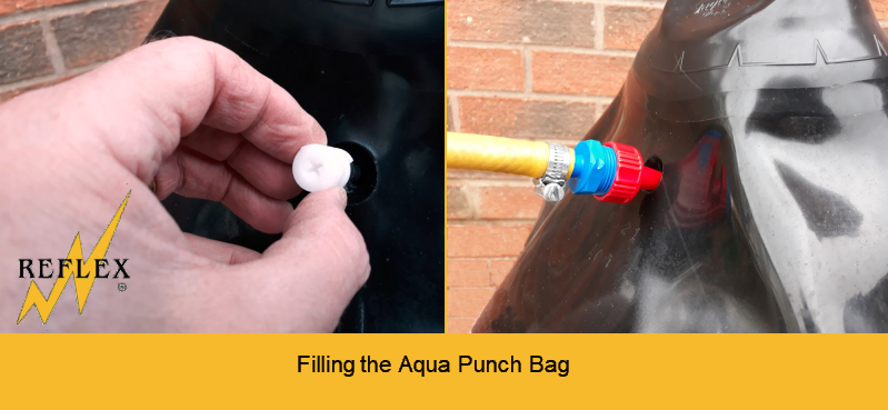 How to fill the Aqua Punch Bag