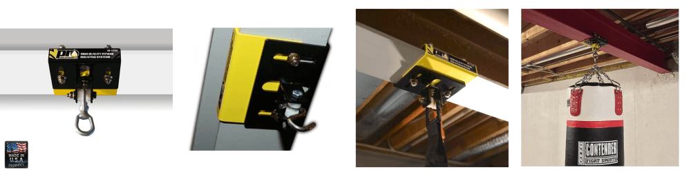 Promountings static i-beam punch bag mount