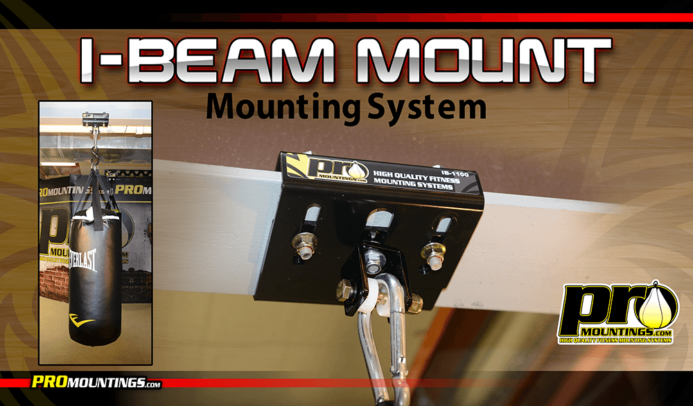 Promounts I-Beam Punch Bag Mount
