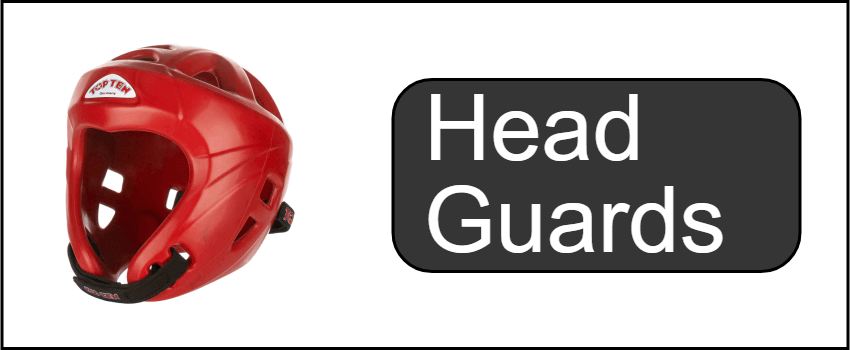 Head Guards for martial arts and boxing